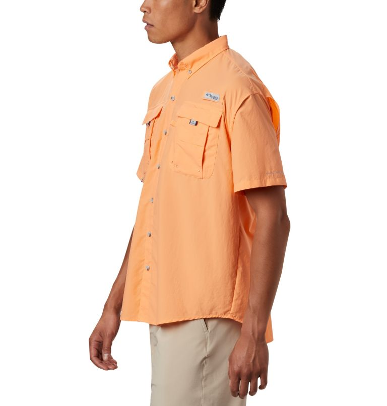 Bahama™ II S/S Shirt | 873 | M Men's PFG Bahama™ II Short Sleeve Shirt, Bright Nectar, a1