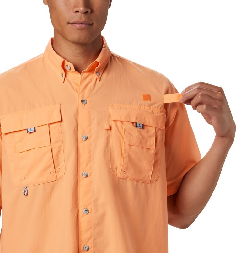 Bahama™ II S/S Shirt | 873 | XL Men's PFG Bahama™ II Short Sleeve Shirt, Bright Nectar, a2