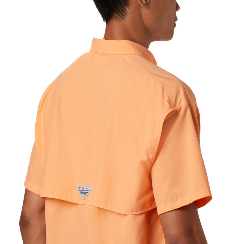 Bahama™ II S/S Shirt | 873 | XL Men's PFG Bahama™ II Short Sleeve Shirt, Bright Nectar, a3