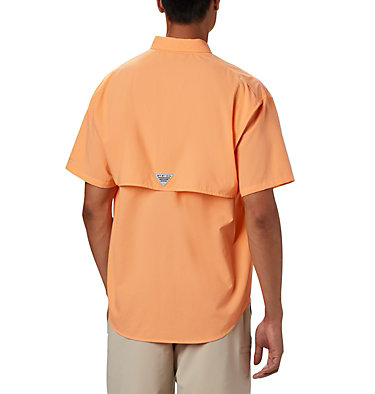 Men's PFG Bahama™ II Short Sleeve Shirt Bahama™ II S/S Shirt | 480 | M, Bright Nectar, back