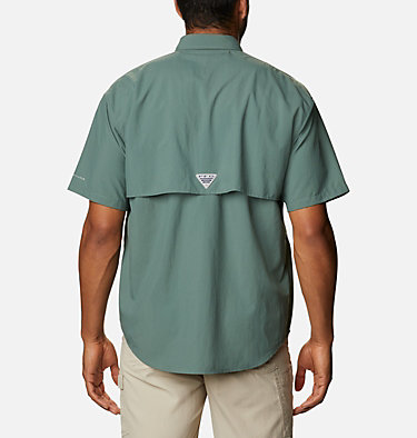 Men's PFG Bahama™ II Short Sleeve Shirt Bahama™ II S/S Shirt | 480 | M, Pond, back