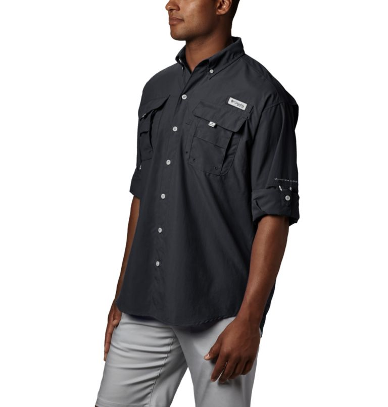 Bahama™ II L/S Shirt | 010 | XL Men's PFG Bahama™ II Long Sleeve Shirt, Black, a1