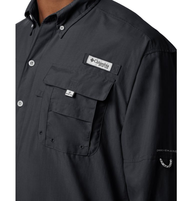 Bahama™ II L/S Shirt | 010 | XL Men's PFG Bahama™ II Long Sleeve Shirt, Black, a2