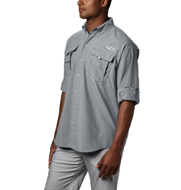 Bahama™ II L/S Shirt | 019 | XXL Men's PFG Bahama™ II Long Sleeve Shirt, Cool Grey, a1