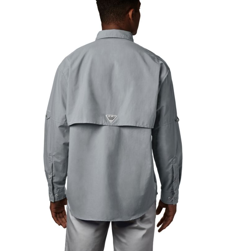 Bahama™ II L/S Shirt | 019 | XXL Men's PFG Bahama™ II Long Sleeve Shirt, Cool Grey, back