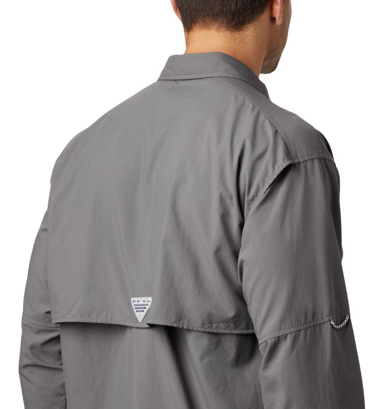 Bahama™ II L/S Shirt   023   S Men's PFG Bahama™ II Long Sleeve Shirt, City Grey, a3