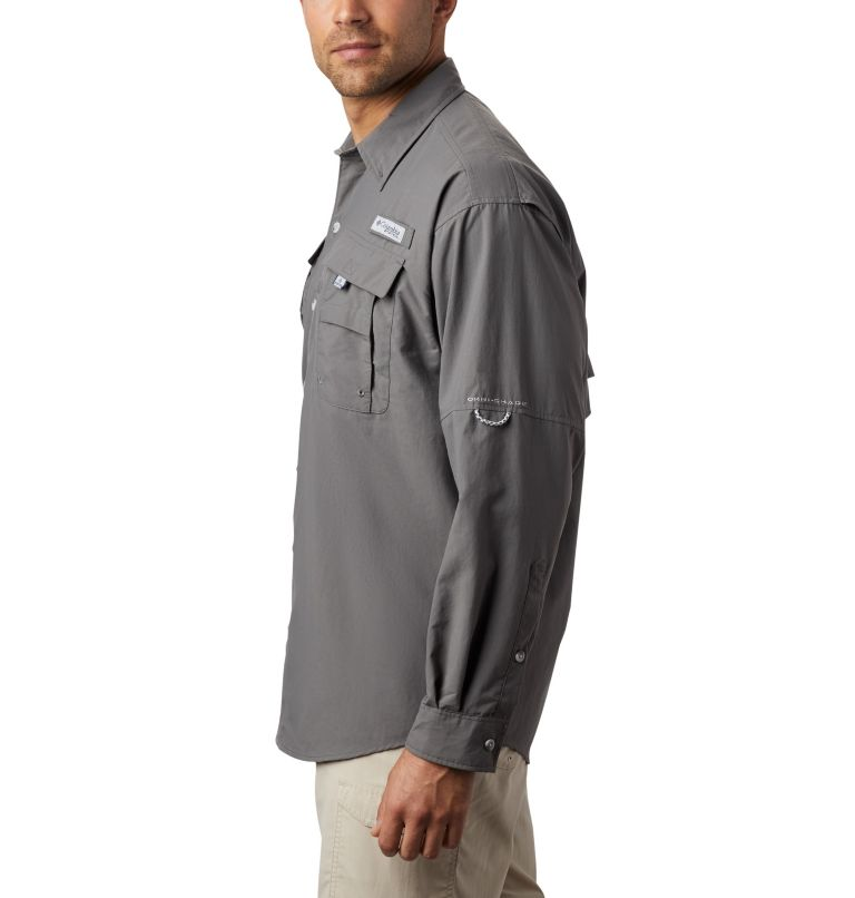 Bahama™ II L/S Shirt | 023 | S Men's PFG Bahama™ II Long Sleeve Shirt, City Grey, a4