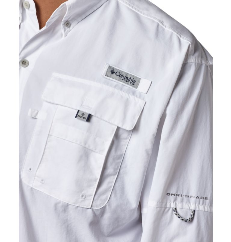 Bahama™ II L/S Shirt | 100 | XXL Men's PFG Bahama™ II Long Sleeve Shirt, White, a3