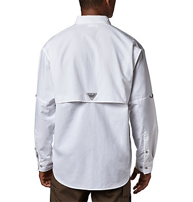 Men's PFG Bahama™ II Long Sleeve Shirt Bahama™ II L/S Shirt | 019 | L, White, back