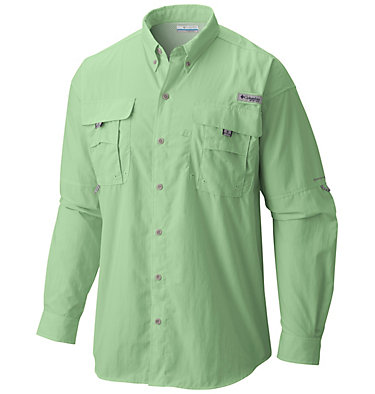 Men's PFG Bahama™ II Long Sleeve Shirt Bahama™ II L/S Shirt | 696 | XXS, Key West, front