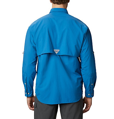 Men's PFG Bahama™ II Long Sleeve Shirt Bahama™ II L/S Shirt   696   XXS, Dark Pool, back