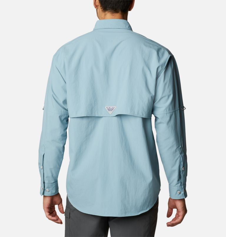Bahama™ II L/S Shirt   447   M Men's PFG Bahama™ II Long Sleeve Shirt, Storm, back