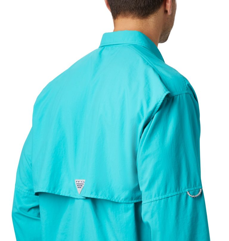 Bahama™ II L/S Shirt | 456 | S Men's PFG Bahama™ II Long Sleeve Shirt, Bright Aqua, a3