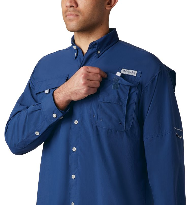 Bahama™ II L/S Shirt | 469 | L Men's PFG Bahama™ II Long Sleeve Shirt, Carbon, a2