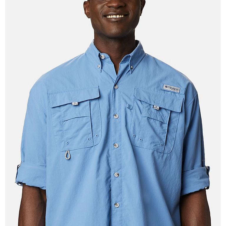 Columbia Sportswear Mens Tall Bahama II Long Sleeve Shirt 3X Tall Beet