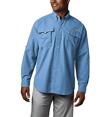 Men's PFG Bahama™ II Long Sleeve Shirt Bahama™ II L/S Shirt | 696 | XXS, Sail, front