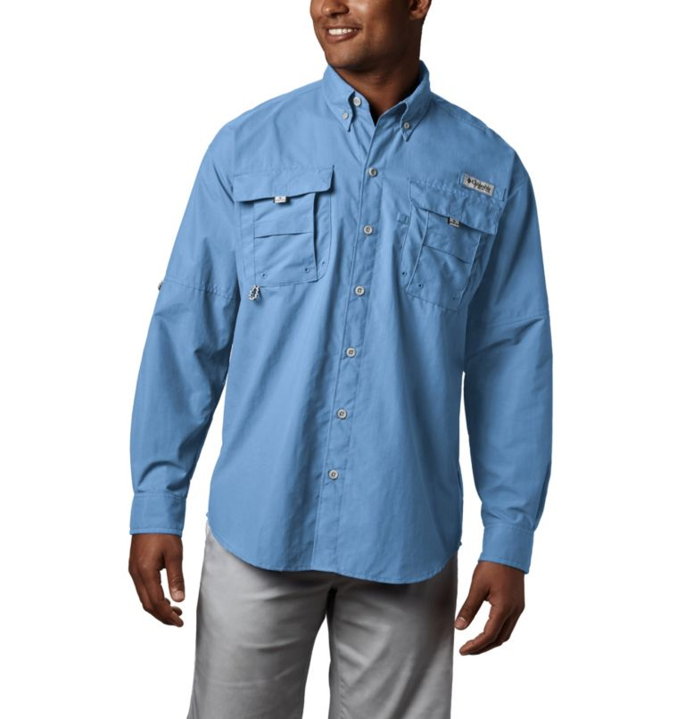 Bahama™ II L/S Shirt | 486 | S Men's PFG Bahama™ II Long Sleeve Shirt, Sail, front