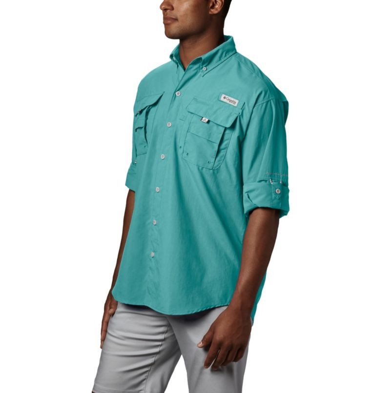 Bahama™ II L/S Shirt | 499 | S Men's PFG Bahama™ II Long Sleeve Shirt, Gulf Stream, a1