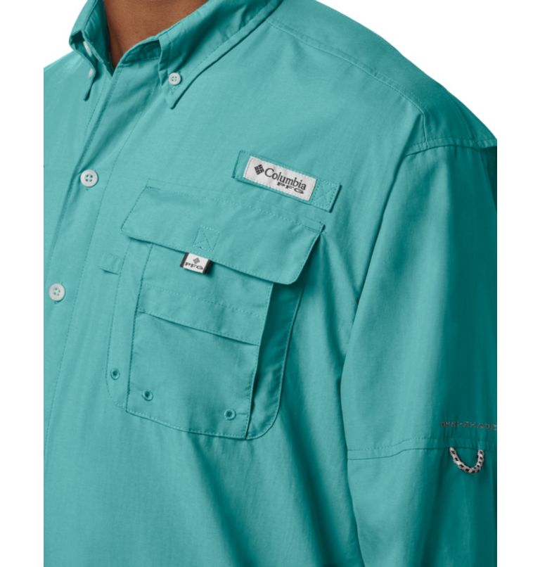 Bahama™ II L/S Shirt | 499 | XXL Men's PFG Bahama™ II Long Sleeve Shirt, Gulf Stream, a2
