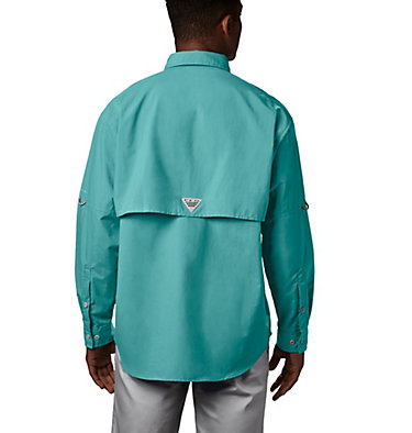 Men's PFG Bahama™ II Long Sleeve Shirt Bahama™ II L/S Shirt | 696 | XXS, Gulf Stream, back