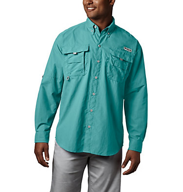 Men's PFG Bahama™ II Long Sleeve Shirt Bahama™ II L/S Shirt | 696 | XXS, Gulf Stream, front