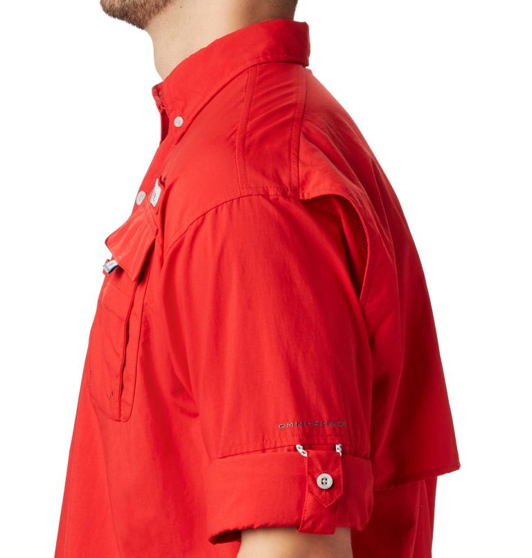Bahama™ II L/S Shirt | 696 | XXL Men's PFG Bahama™ II Long Sleeve Shirt, Red Spark, a2