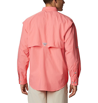 Men's PFG Bahama™ II Long Sleeve Shirt Bahama™ II L/S Shirt | 696 | XXS, Salmon, back