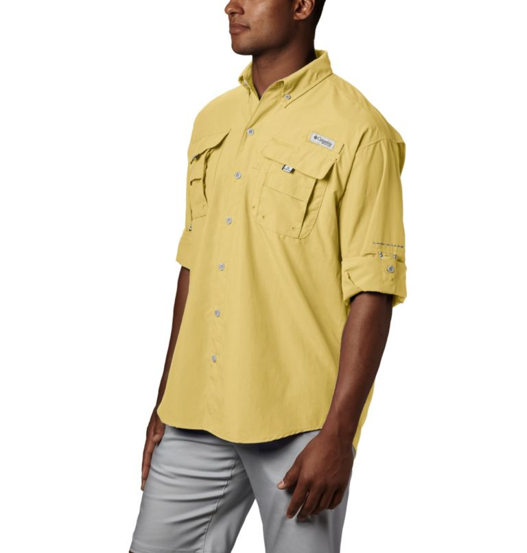 Bahama™ II L/S Shirt | 707 | XS Men's PFG Bahama™ II Long Sleeve Shirt, Sunlit, a1