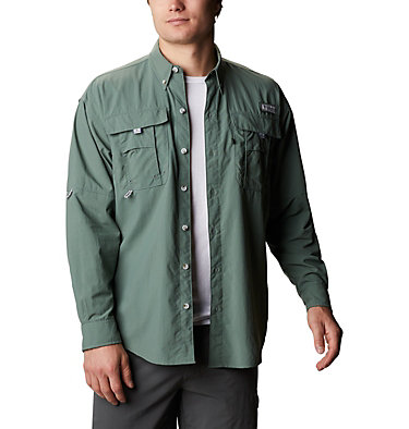 Men's PFG Bahama™ II Long Sleeve Shirt Bahama™ II L/S Shirt   696   XXS, Pond, front