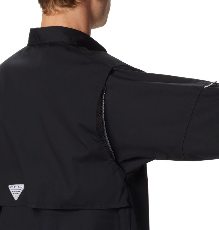 Bonehead™ LS Shirt | 010 | L Men's PFG Bonehead™ Long Sleeve Shirt, Black, a1