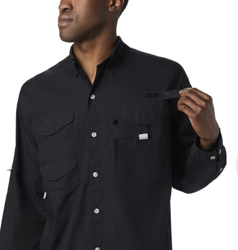 Bonehead™ LS Shirt | 010 | XS Men's PFG Bonehead™ Long Sleeve Shirt, Black, a4