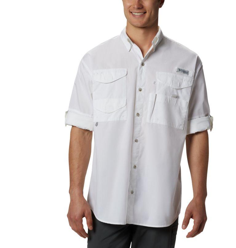 Bonehead™ LS Shirt | 100 | L Men's PFG Bonehead™ Long Sleeve Shirt, White, a2