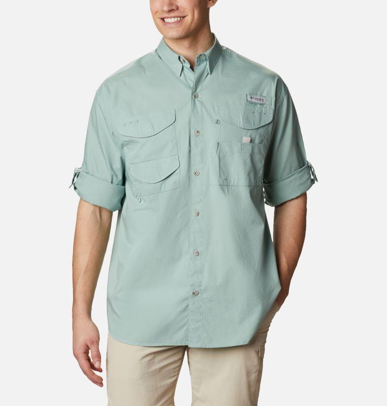 Bonehead™ LS Shirt | 345 | L Men's PFG Bonehead™ Long Sleeve Shirt, Aqua Tone, a4