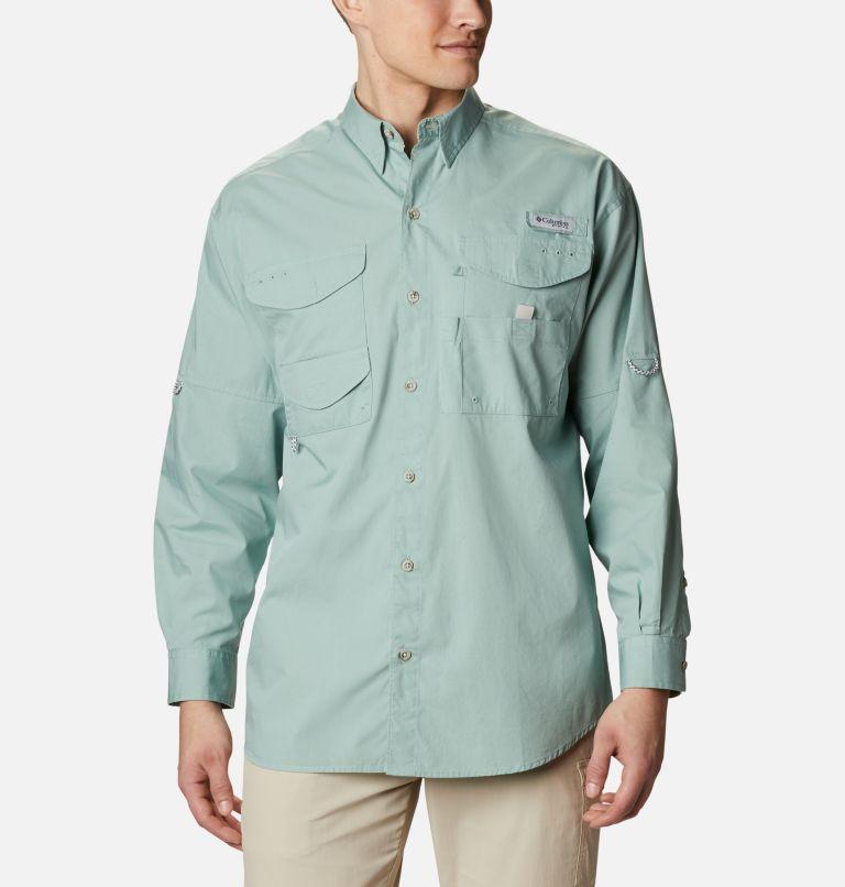 Bonehead™ LS Shirt | 345 | XXL Men's PFG Bonehead™ Long Sleeve Shirt, Aqua Tone, front