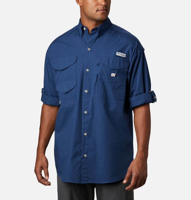 Bonehead™ LS Shirt | 469 | XXS Men's PFG Bonehead™ Long Sleeve Shirt, Carbon, a1