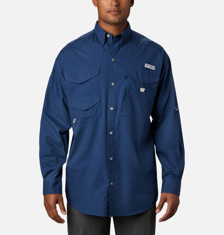 Bonehead™ LS Shirt | 469 | XXS Men's PFG Bonehead™ Long Sleeve Shirt, Carbon, front