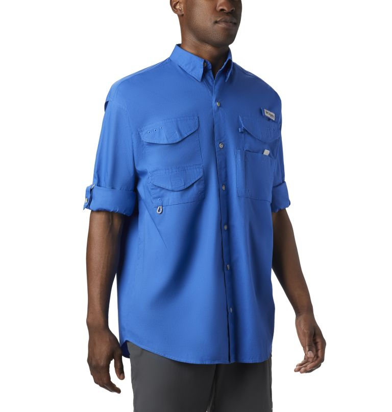 Bonehead™ LS Shirt | 487 | XS Men's PFG Bonehead™ Long Sleeve Shirt, Vivid Blue, a3