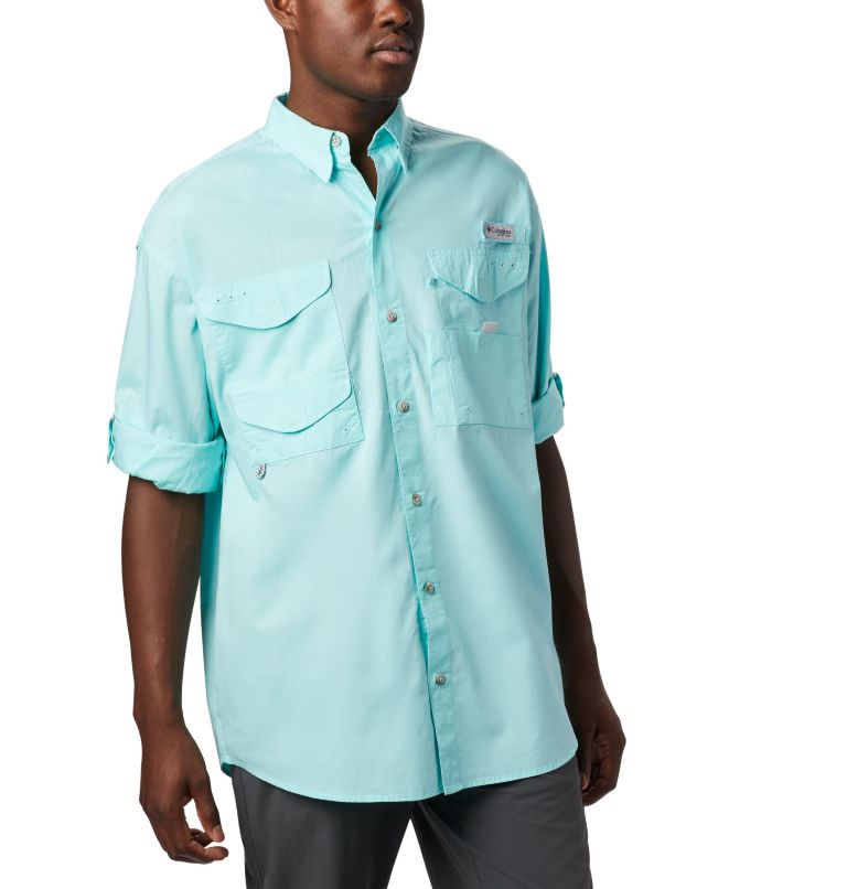 Bonehead™ LS Shirt | 499 | XXL Men's PFG Bonehead™ Long Sleeve Shirt, Gulf Stream, a4