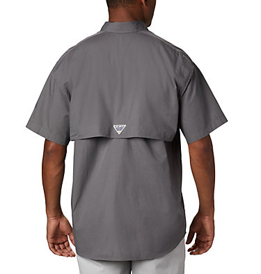 Men's PFG Bonehead™ Short Sleeve Shirt Bonehead™ SS Shirt | 023 | XXS, City Grey, back