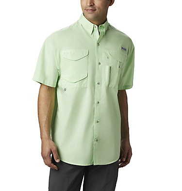 Men's PFG Bonehead™ Short Sleeve Shirt Bonehead™ SS Shirt | 697 | L, Key West, front