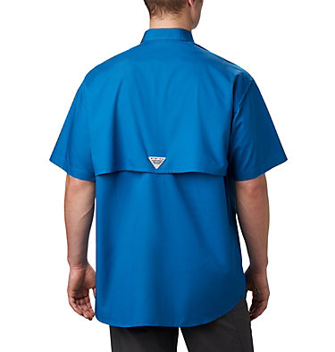 Men's PFG Bonehead™ Short Sleeve Shirt Bonehead™ SS Shirt | 697 | L, Dark Pool, back