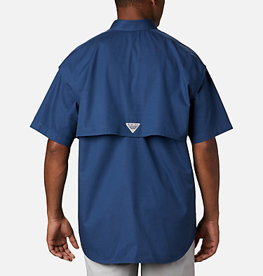 Men's PFG Bonehead™ Short Sleeve Shirt Bonehead™ SS Shirt | 697 | L, Carbon, back