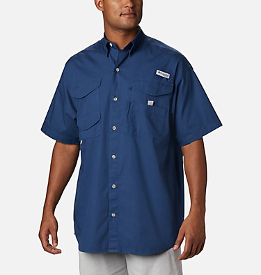 Men's PFG Bonehead™ Short Sleeve Shirt Bonehead™ SS Shirt | 697 | L, Carbon, front