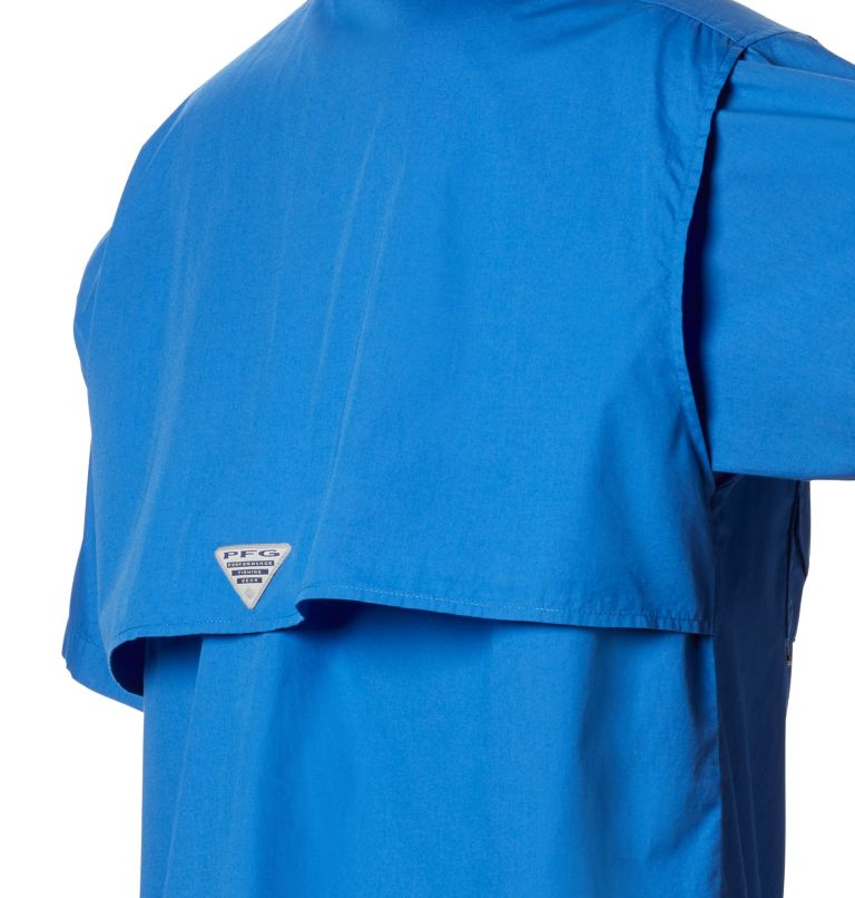 Bonehead™ SS Shirt | 487 | XXS Men's PFG Bonehead™ Short Sleeve Shirt, Vivid Blue, a3