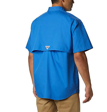 Men's PFG Bonehead™ Short Sleeve Shirt Bonehead™ SS Shirt | 697 | L, Vivid Blue, back
