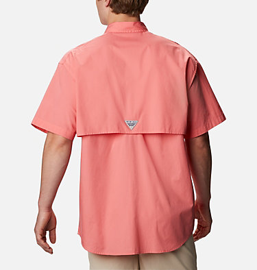 Men's PFG Bonehead™ Short Sleeve Shirt Bonehead™ SS Shirt | 697 | L, Salmon, back