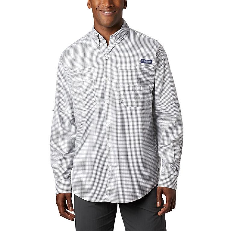 "New Mens Columbia PFG /""Super Bahama/"" Omni-Shade Vented Fishing Shirt"