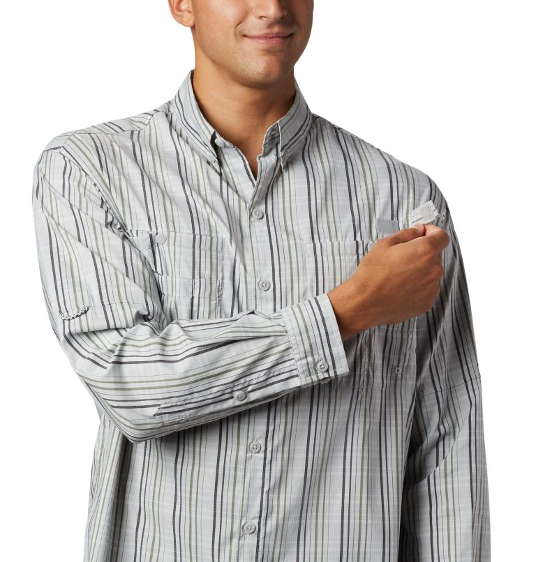 Super Tamiami™ LS Shirt | 012 | S Men's PFG Super Tamiami™ Long Sleeve Shirt, Cool Grey Small Check, a3