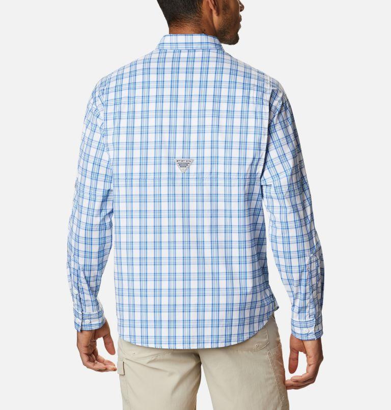 Super Tamiami™ LS Shirt | 374 | XL Men's PFG Super Tamiami™ Long Sleeve Shirt, Key West Plaid, back
