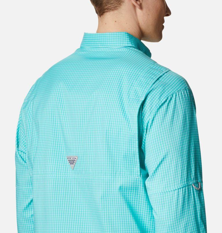Super Tamiami™ LS Shirt | 455 | XL Men's PFG Super Tamiami™ Long Sleeve Shirt, Bright Aqua Gingham, a3